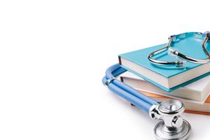 stethoscope on ethics committee books