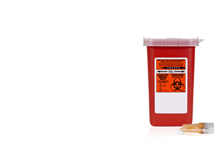 medical waste container for biohazards